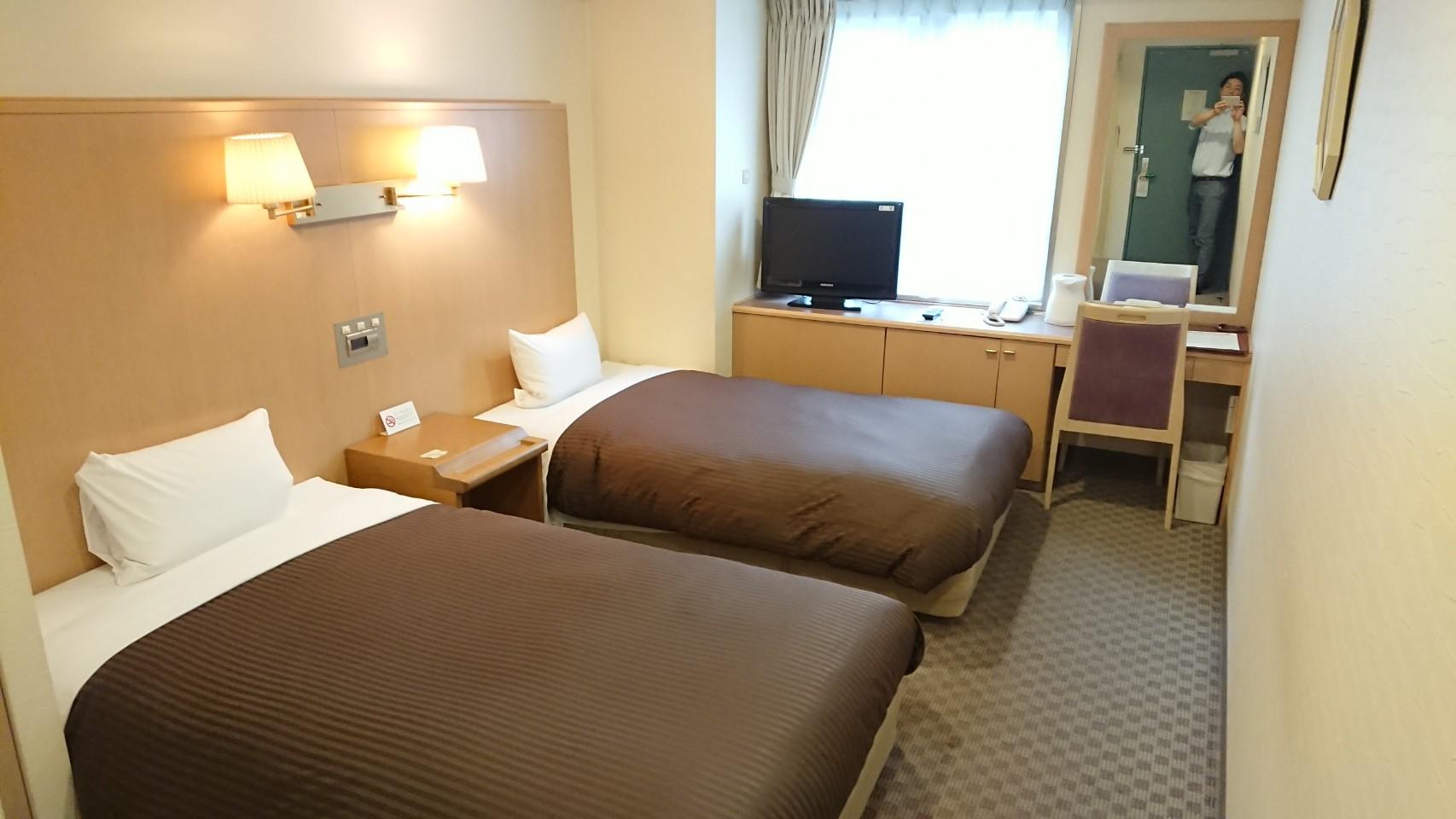 モデレートツインルーム|札幌クラッセホテル